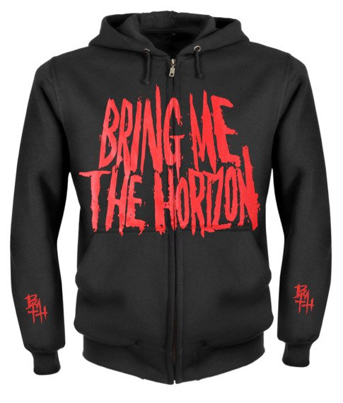 bluza BRING ME THE HORIZON - BAND rozpinana, z kapturem