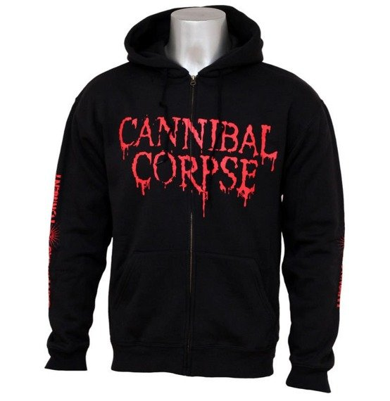 bluza CANNIBAL CORPSE - CENTURIES OF TORMENT, rozpinana z kapturem
