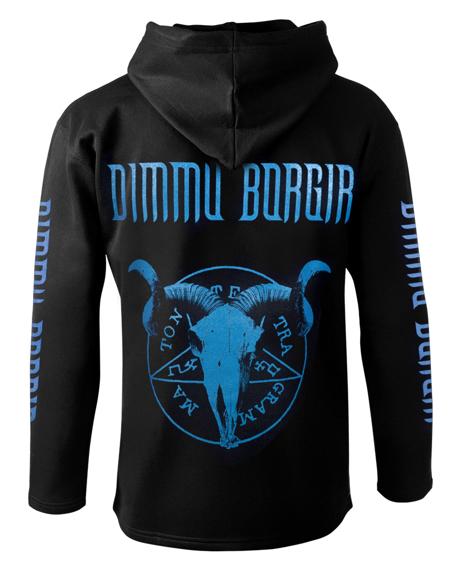 bluza DIMMU BORGIR - STORMBLAST czarna, z kapturem