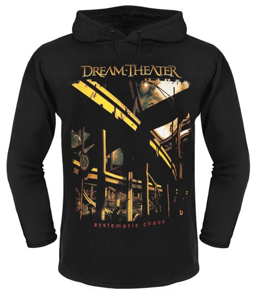 bluza DREAM THEATER - SYSTEMATIC CHAOS czarna, z kapturem