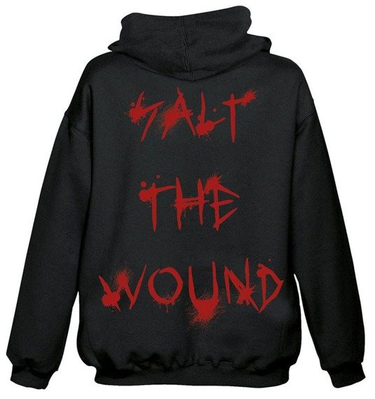bluza EXODUS - SALT THE WOUND, rozpinana z kapturem