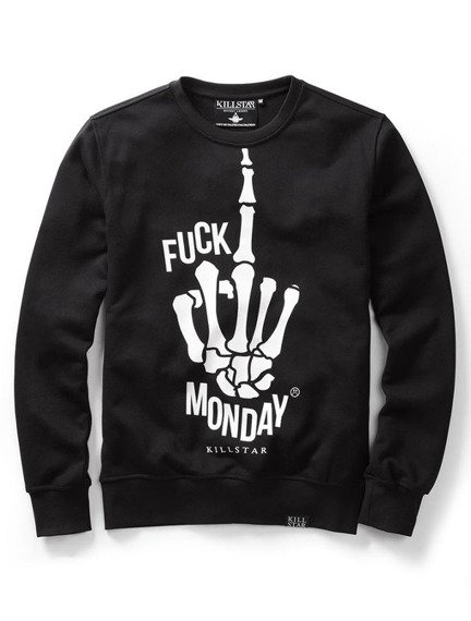 bluza KILL STAR - F* MONDAY, bez kaptura