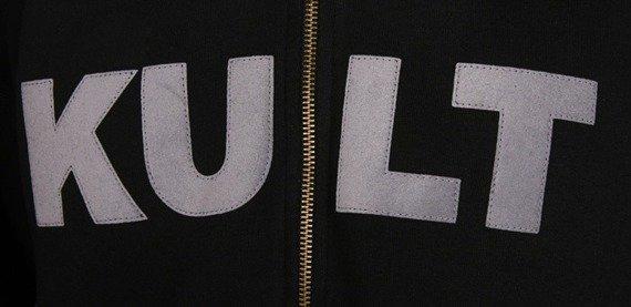 bluza KULT - HURRA! czarna