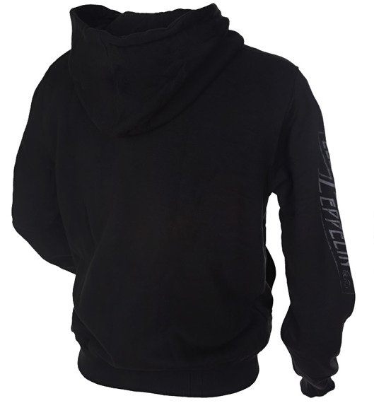 bluza LED ZEPPELIN czarna, rozpinana z kapturem