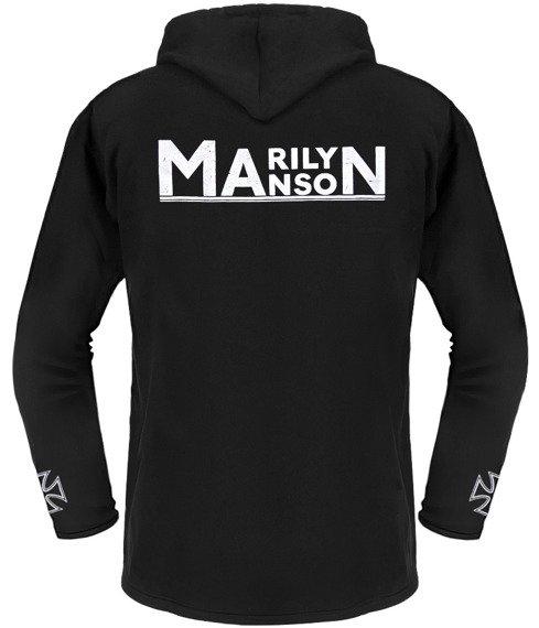 bluza MARILYN MANSON czarna, z kapturem