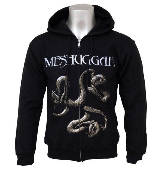 bluza MESHUGGAH - CATCH 33, rozpinana z kapturem