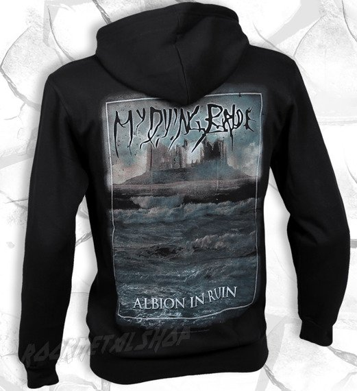 bluza MY DYING BRIDE - ALBION IN RUIN, rozpinana z kapturem