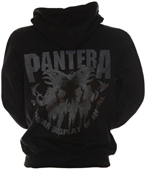 bluza PANTERA - VULGAR DISPLAY OF POWER rozpinana, z kapturem