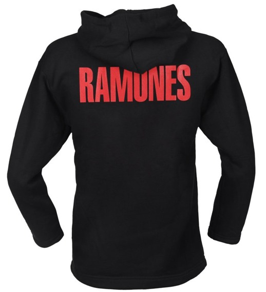 bluza RAMONES, z kapturem