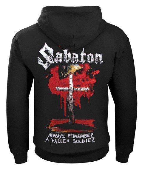 bluza SABATON - 40:1, rozpinana z kapturem