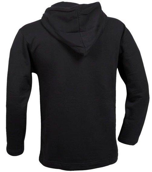 bluza WIĘCEJ UPRAWNIEŃ DLA POLICJI - czarna, z kapturem