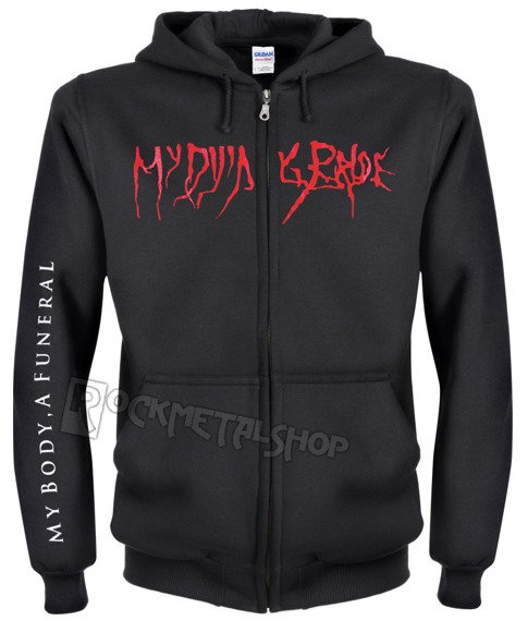 bluza rozpinana MY DYING BRIDE - MY BODY A FUNERAL