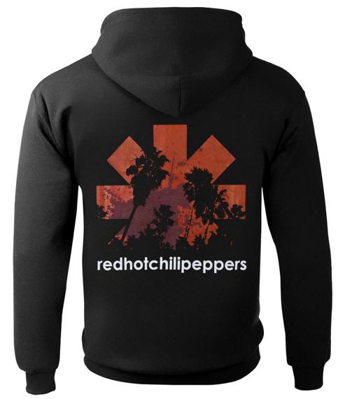 bluza rozpinana RED HOT CHILI PEPPERS - LOGO