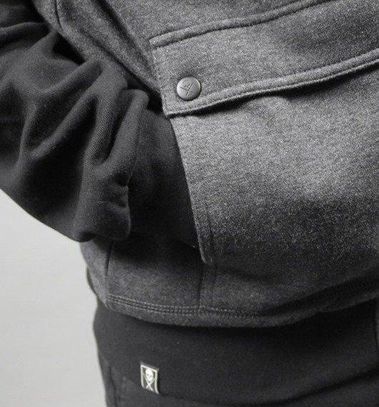 bluza rozpinana SULLEN - HAIL grey/black