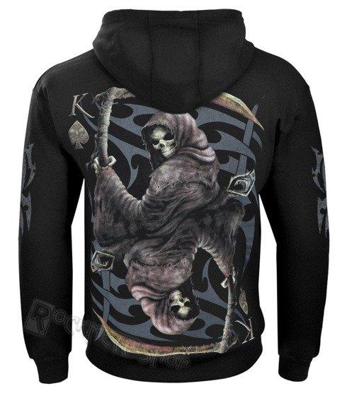 bluza z kapturem DICE WITH DEATH