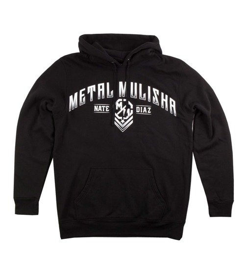 bluza z kapturem METAL MULISHA - NATE DIAZ czarna