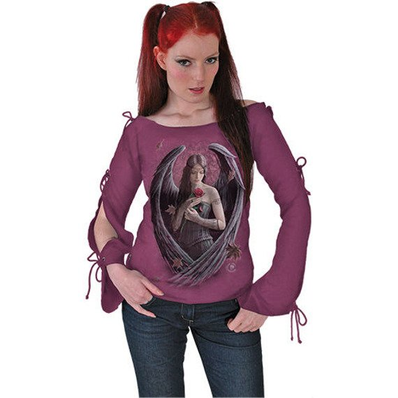 bluzka damska ANGEL ROSE długi rękaw