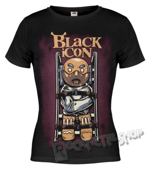 bluzka damska BLACK ICON - HANNIBAL COOKIES (DICON135 BLACK)
