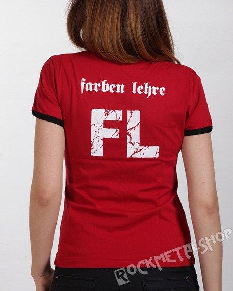 bluzka damska FARBEN LEHRE - 20 FL PRL czerwona
