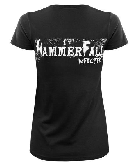 bluzka damska HAMMERFALL - INFECTED