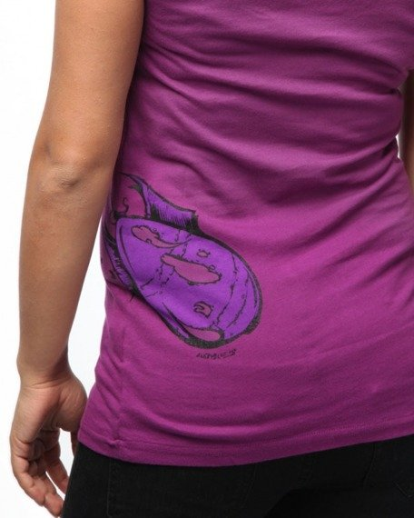 bluzka damska IRON FIST - FALLOUT (MAGNETA)
