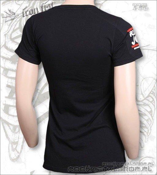 bluzka damska IRON FIST - RUN JC  (BLACK)
