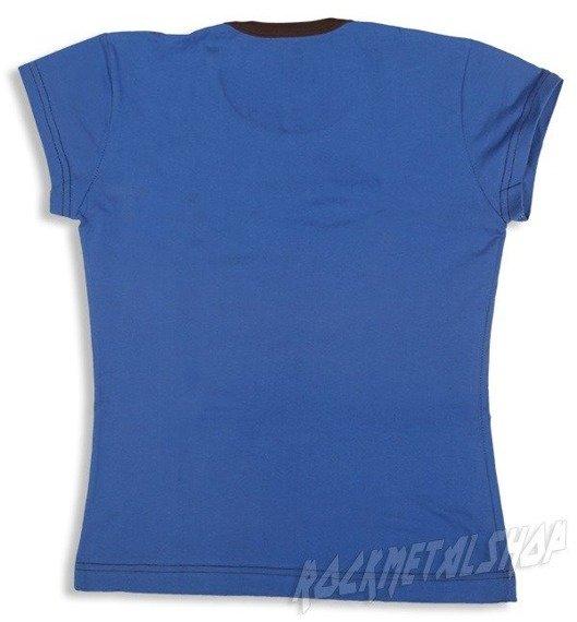 bluzka damska KAŻDY INNY WSZYSCY RÓWNI niebieska