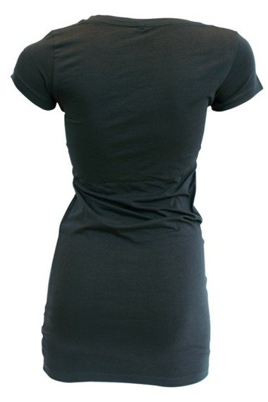 bluzka damska LA INK - ANTHRACITE PIN UP T-SHIRT (TS420119LIK)