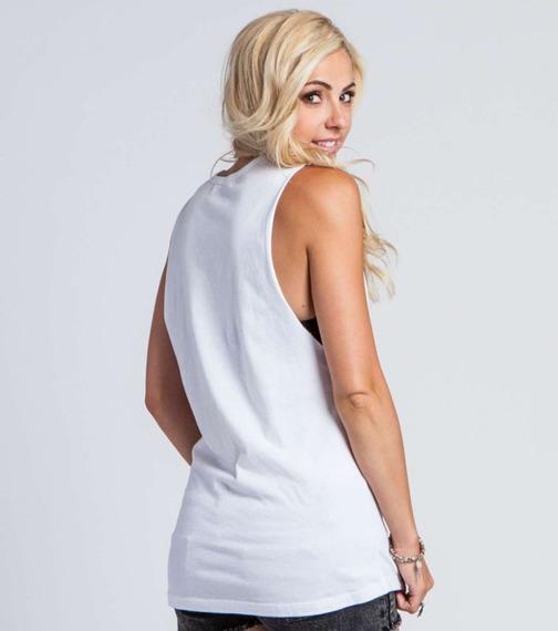 bluzka damska METAL MULISHA - PURE POETRY biała
