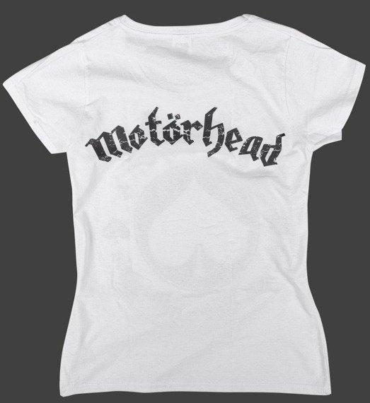 bluzka damska MOTORHEAD - BORN TO LOSE LIVE TO WIN biała