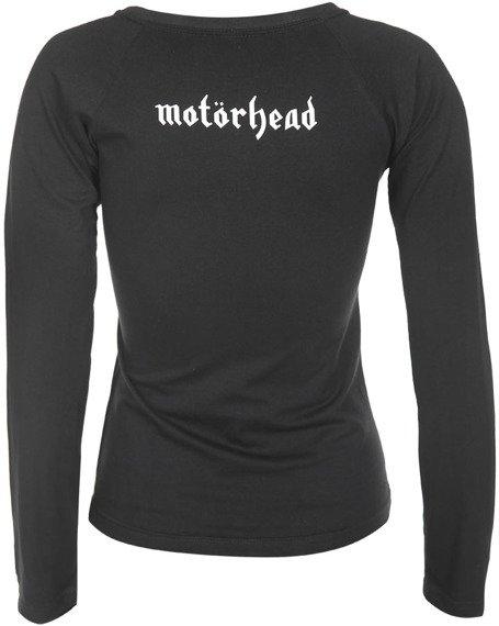 bluzka damska MOTORHEAD - UNDER THE GUN długi rękaw