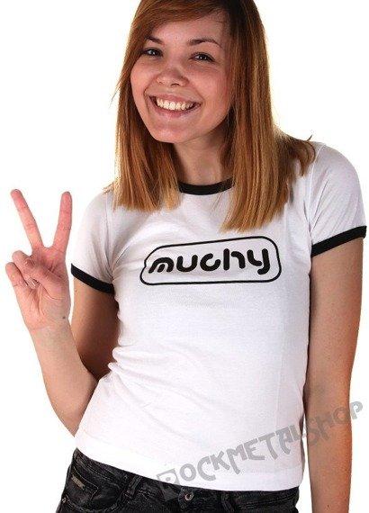 bluzka damska MUCHY - NAUCZĘ CIĘ JAK SIĘ SPADA Z DACHU