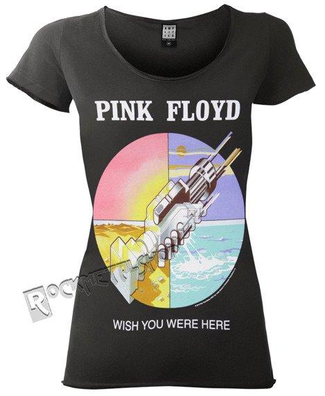 bluzka damska PINK FLOYD - WISH YOU WERE HERE ciemnoszara