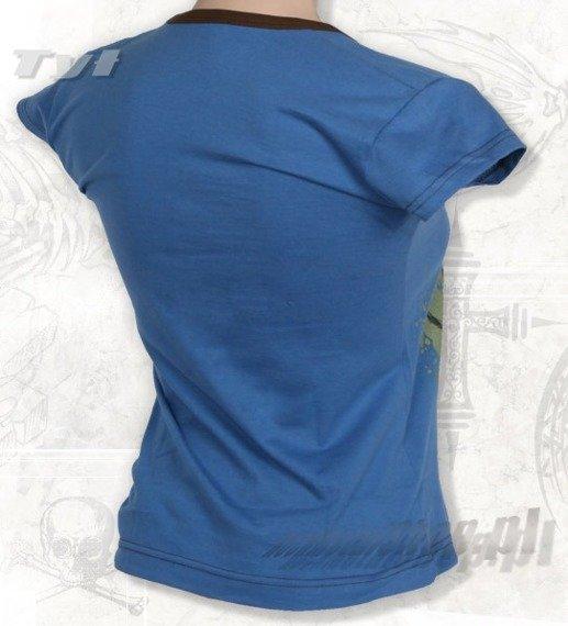 bluzka damska SERJ TANKIAN niebieska
