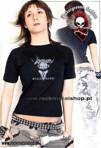 bluzka damska VENOM - BLACK METAL