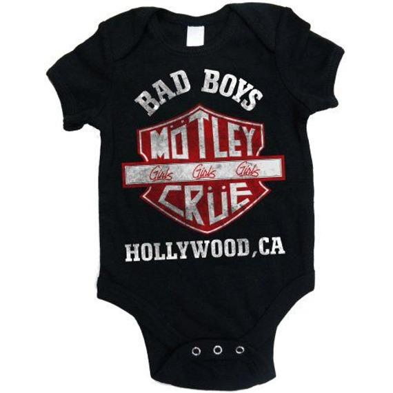 body dziecięce MOTLEY CRUE - BAD BOYS SHIELD