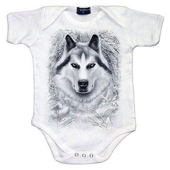 body dziecięce SPIRAL - WHITE WOLF
