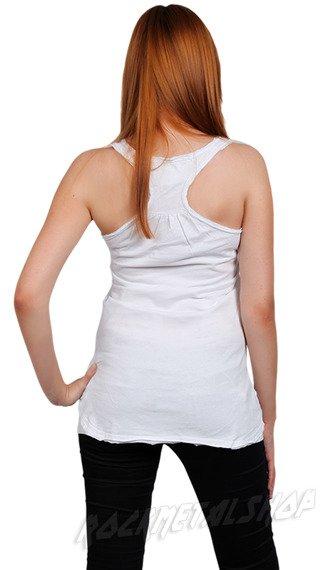 bokserka damska ROLLING STONES - CUBA DIAMANTE biała