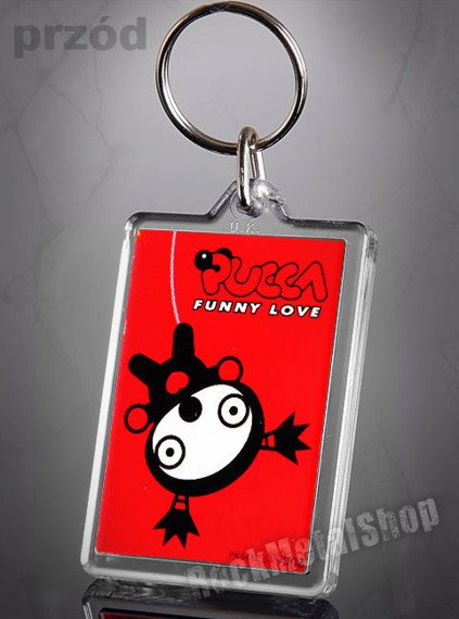 brelok do kluczy PUCCA - FUNNY LOVE