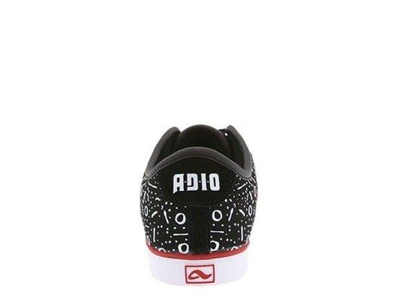 buty ADIO (DRAYTON SL) (BLACK/SUEDE/WHITE)