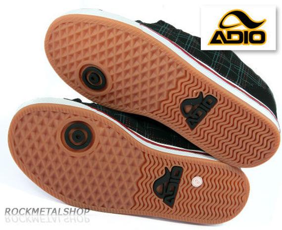 buty ADIO - DRAYTON black-plaid-gum [62070]