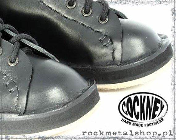 buty COCKNEY STEP - BLACK (8 dziurek)