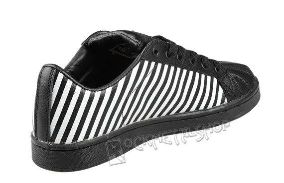 buty DRAVEN - DP DISASTER STRIPE black/white (MC1602)