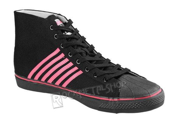 buty DRAVEN - DUANE PETERS CANVAS HIGH  pink/black