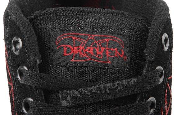 buty DRAVEN - SLIPKNOT MAGGOT black