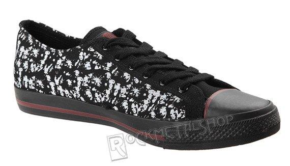 buty DRAVEN - SLIPKNOT MASK C. LOW black/white