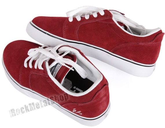 buty ES - FIRST BLOOD (MAROON/WHITE) '11