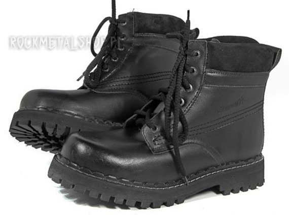 buty JOLEX czarne (WZ. 080) 6-dziurkowe