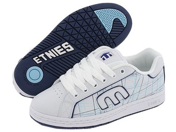 buty damskie Etnies -Callicut   White/White/Blue