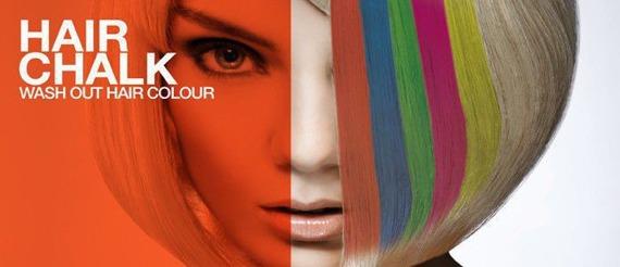 cień/kreda koloryzujaca do włosów ORANGE/ POMARAŃCZOWY